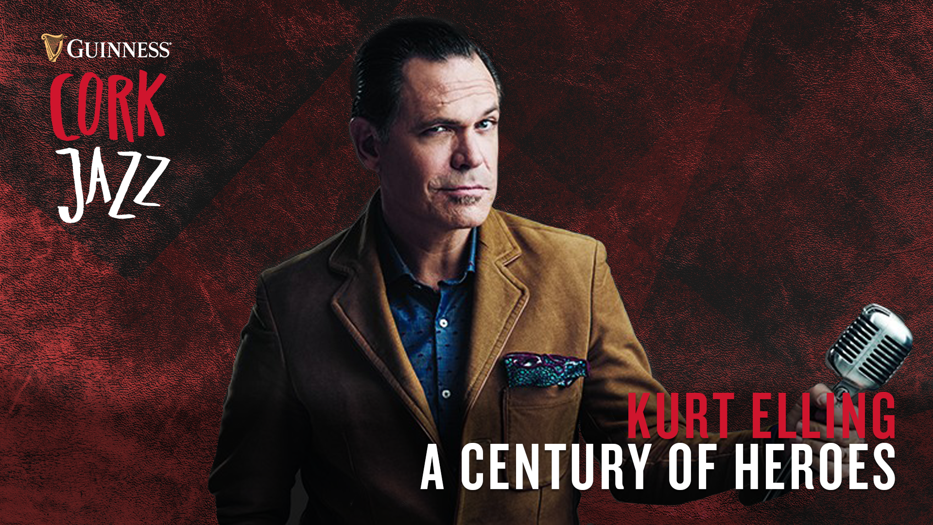 Grammy winner, Kurt Elling brings his Century of Heroes show to Guinness Cork Jazz 2019