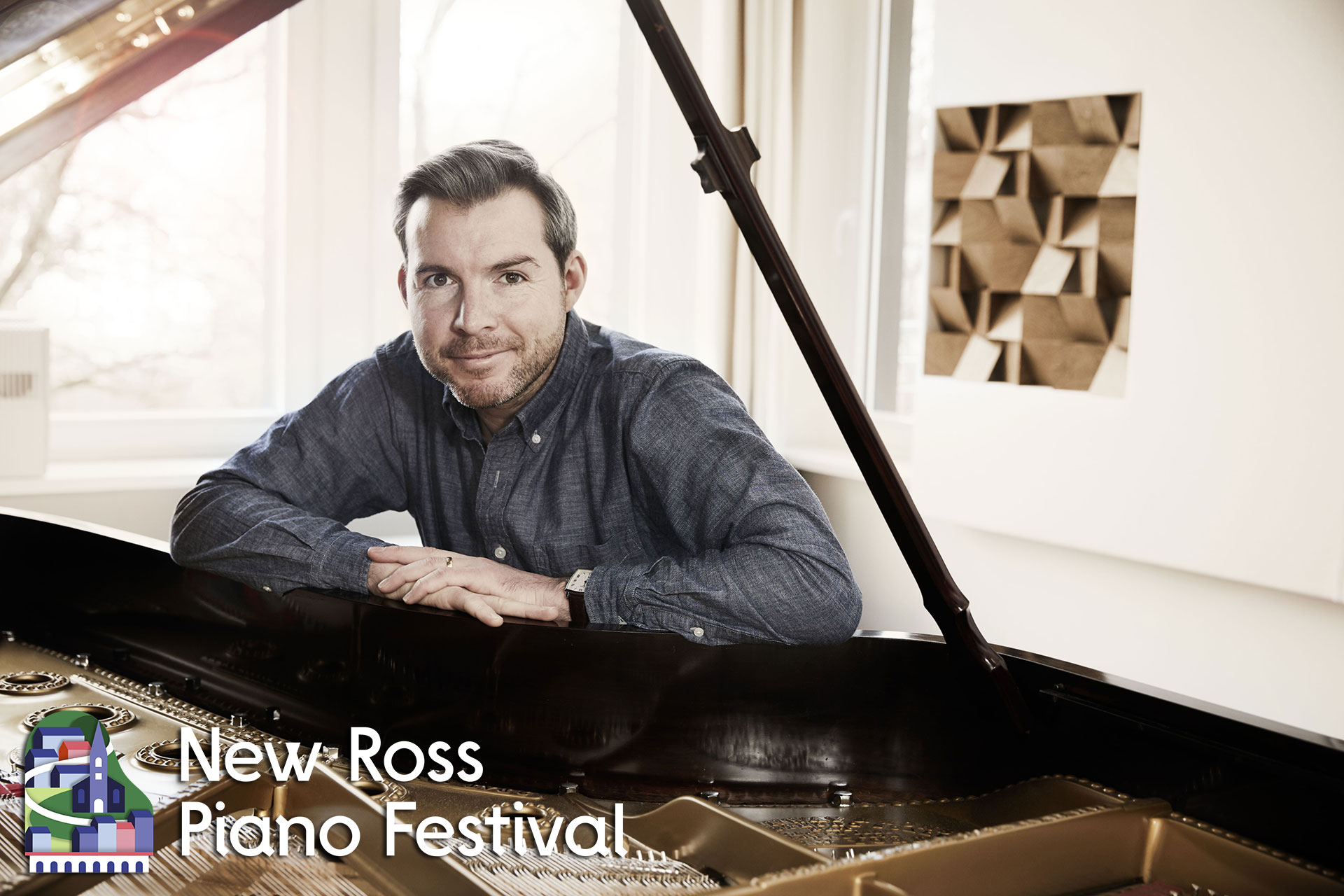 New Ross Piano Festival 2019 - Press Release - Gwilym Simcock