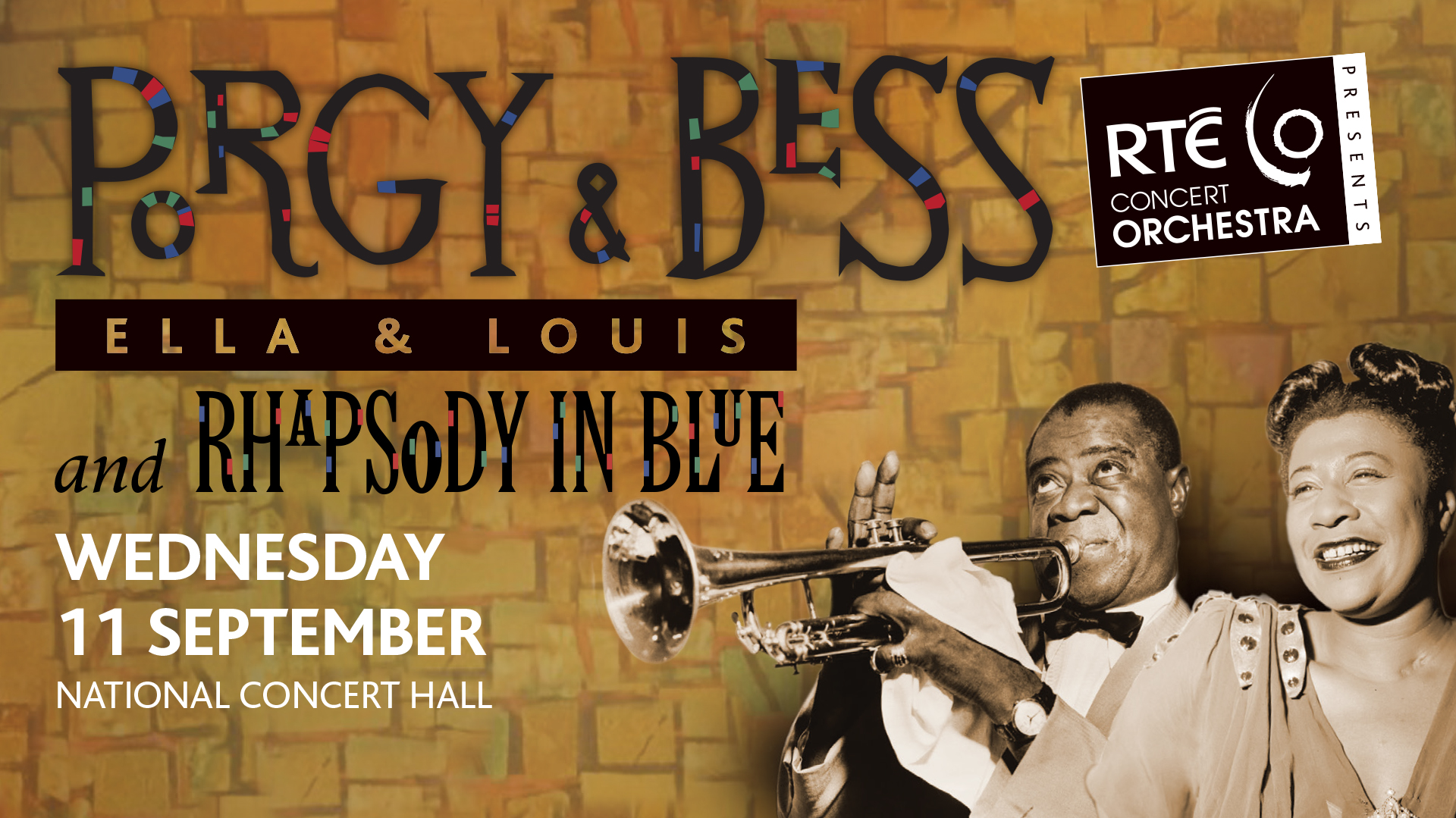 "Another jazz classic ""Ella & Louis Porgy & Bess"" to get RTÉ Concert Orchestra treatment"