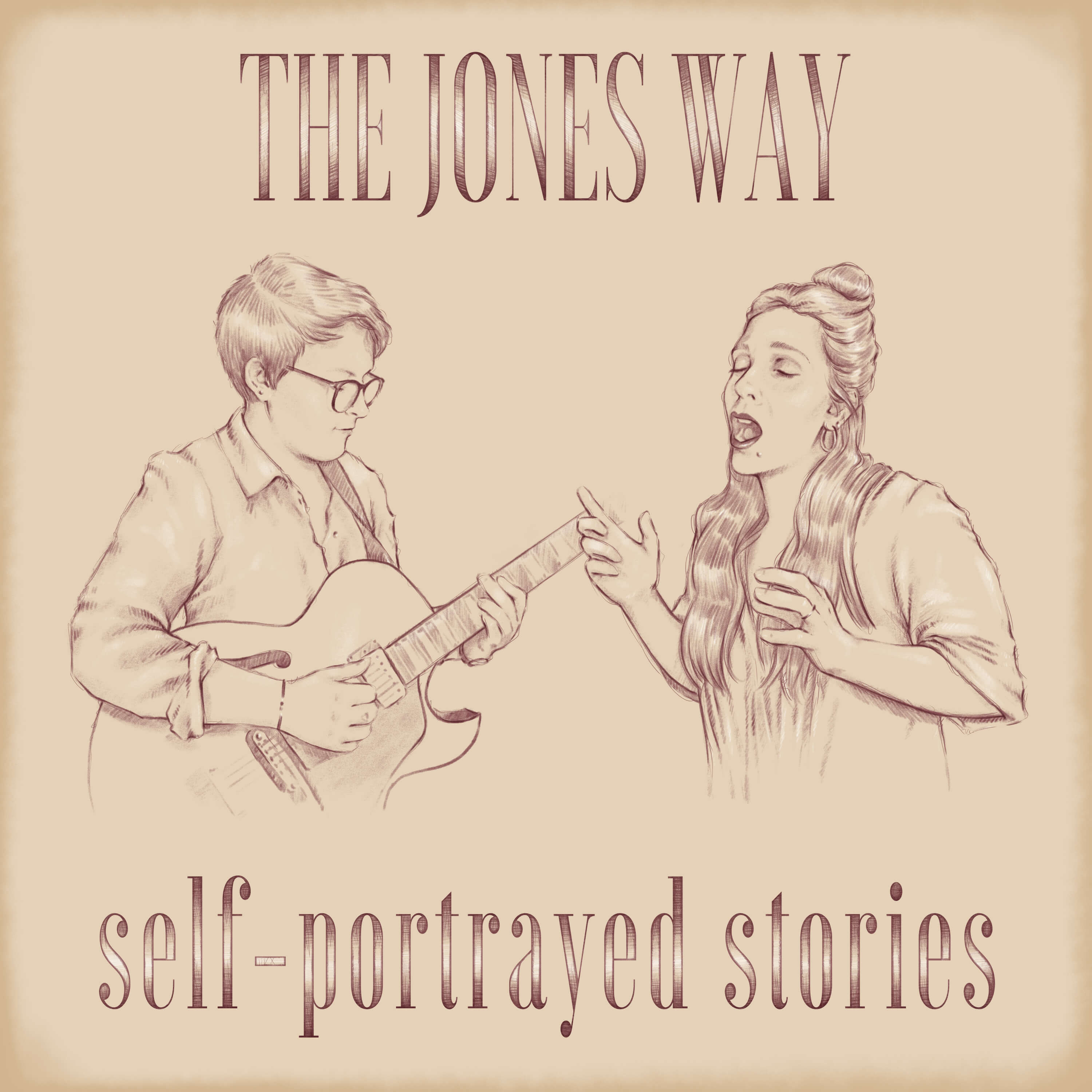 "The Jones Way announces new EP ""Self-Portrayed Stories"""