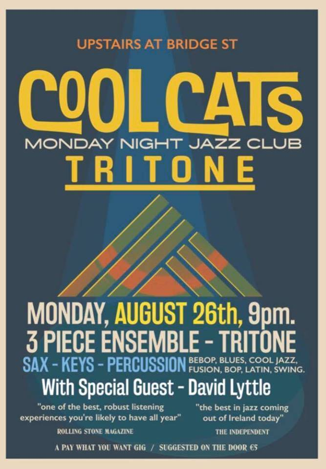 Monday Night Jazz. Featuring David Lyttle (Drums)