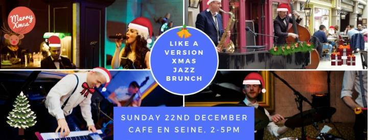 Xmas Jazz Brunch with the Like A Version Quartet