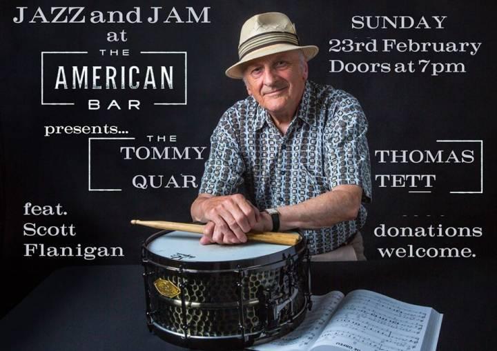 Jazz at the American Bar + Jam #13 | Tommy Thomas Quartett