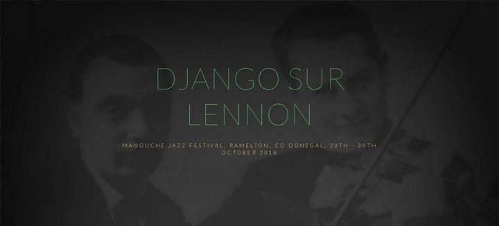 Django sur Lennon - Jazz Ireland