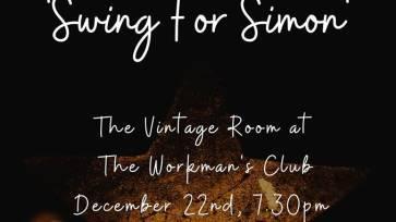 Swing for Simon (A charity night for Dublin Simon Community)