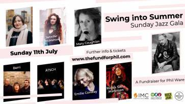 Swing into Summer: Sunday Jazz Gala - A Fundraiser for Phil Ware